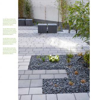 Kleine Gärten, leicht zu pflegen