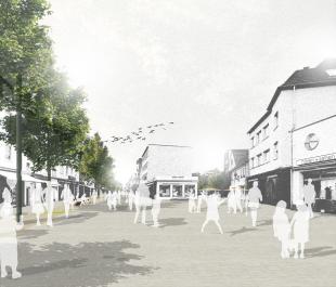 Fußgängerzone Troisdorf