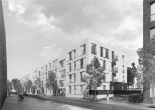 1. Platz Clouth-Quartier WA 13.2 Köln